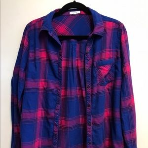 Maurices Button Down Long Sleeve